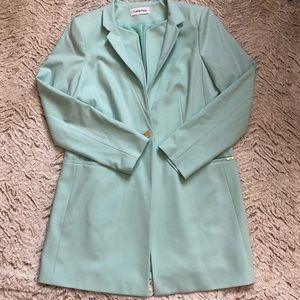 CK Suit Jacket Turquoise